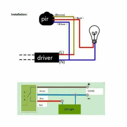 140 °Drehung im Freien Infrarot PIR Bewegungsmelder Wandlichtschalter Detek H0F1