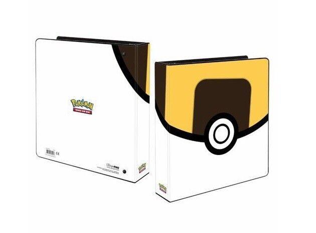 Pokemon katalog Ultra boll för blad Ultra pro 3 - ring Binder 85460