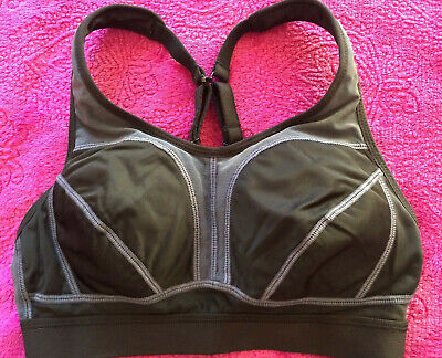 Clothes, Shoes & Accessories Sports Bras Amicable Bn Sweaty Betty Black/grey Padded Adjustable Run Sport Bra Size 32b ♡♡♡ High Quality And Inexpensive