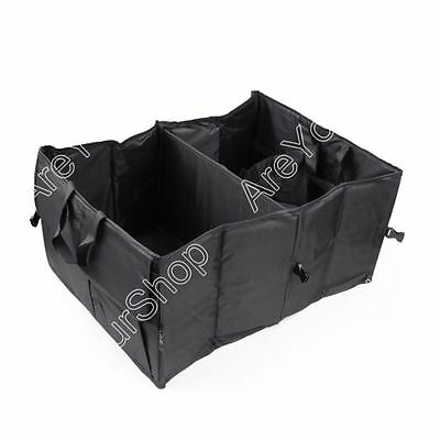 Car Trunk Cargo Organizer Collapsible Bag Storage Black Folding in the Car K