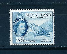 SOMALILAND 1953 DEFINITIVES SG142 35c (BIRD)  MNH