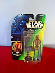 STAR WARS  POWER OF THE FORCE  EV-9D9 WITH DATAPAD