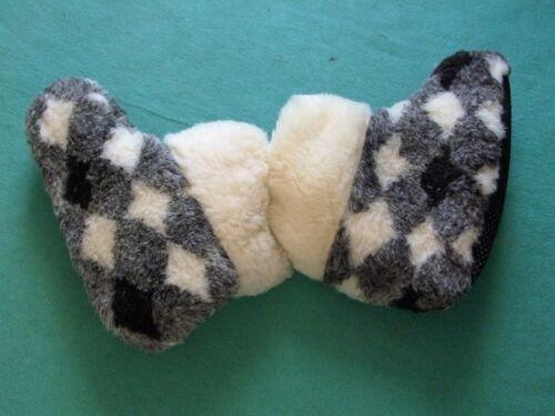 Herren Puschen Hüttenschuhe auch f Schafwoll Hausschuhe kranke Füße Gr.39-46
