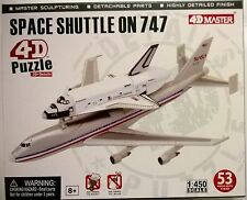 KIT 4D MASTER 1:450 SHUTTLE ON 747 DA MONTARE AD INCASTRO SPACE SHUTTLE  26375