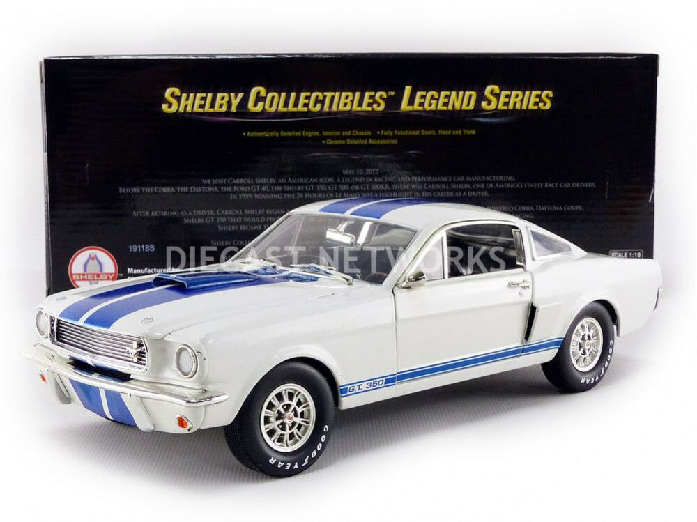 SHELBY COLLECTIBLES - 1 18 - FORD MUSTANG SHELBY GT 350 - SHELBY160
