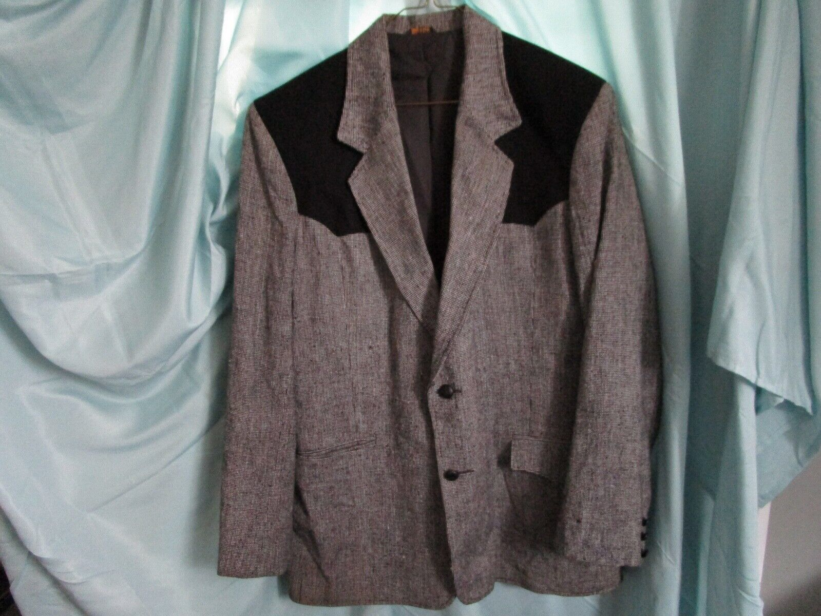 Vintage Pioneer Wear Western Suit Jacket Blazer B… - image 1