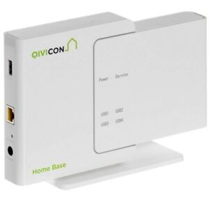 Qivicon Smart Home Basis (Home Base inkl. Lizenz) System für Heimautomatisi<wbr/>erung