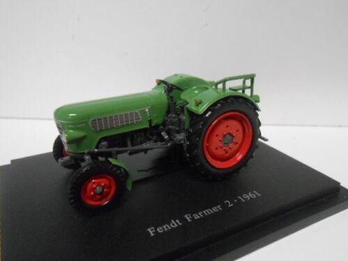 FENDT FARMER 2 1961 TRACTOR SCHLEPPER HACHETTE G140 1//43