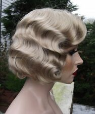 Fingerwave Wig ..  Rose.  QUALITY Great for THEATRE! #24 Blonde   Finger wave *