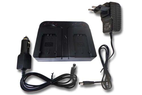Original VHBW ® dual cargador para jvc everio gz-e15 gz-e209beu