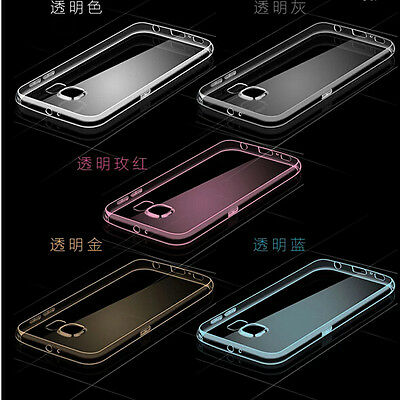 Ultra Thin Glossy Transparent Clear Soft Back Case Cover Skin for Samsung Galaxy