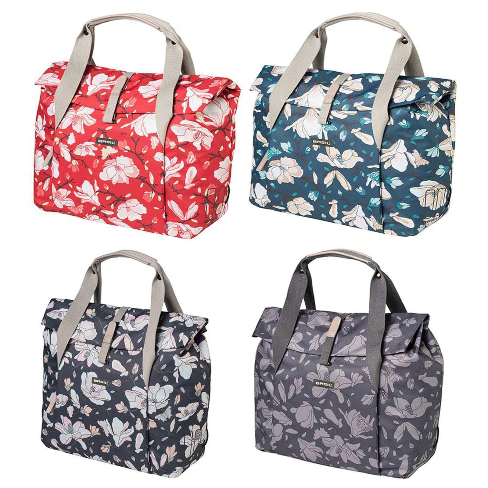 Basil Shopper Magnolia Handbag 18l Bicycle Womens Shoulder Carrier  Bag  zero profit