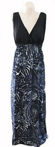 New-Ladies-Crossroads-Summer-Maxi-Dress-Animal-Print-Sizes-XS-S-M-L-XL