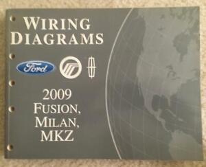 2009 Ford Fusion Milan Mkz Wiring Diagrams OEM | eBay