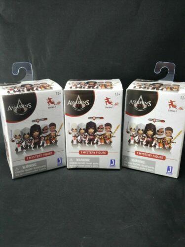 Assassins Creed LOT OF 3 Mystery Mini Gamestop Ex Blind Box Jazwares Funko NEW
