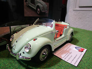 volkswagen coccinelle cabriolet jolly au 1 18 schuco 450008000 voiture miniature ebay. Black Bedroom Furniture Sets. Home Design Ideas