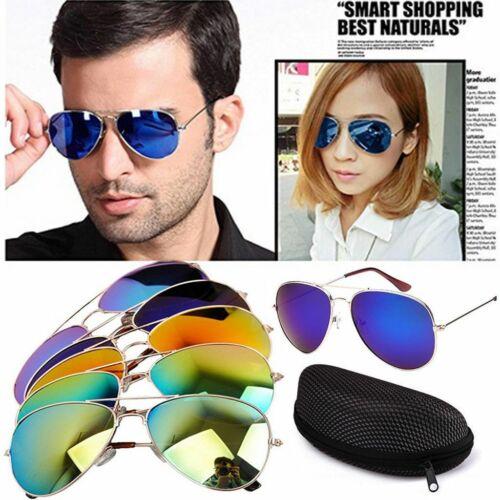 Aviator Polarized Sunglasses Women Men Driving Vintage Bamboo Mirrored Eyewear