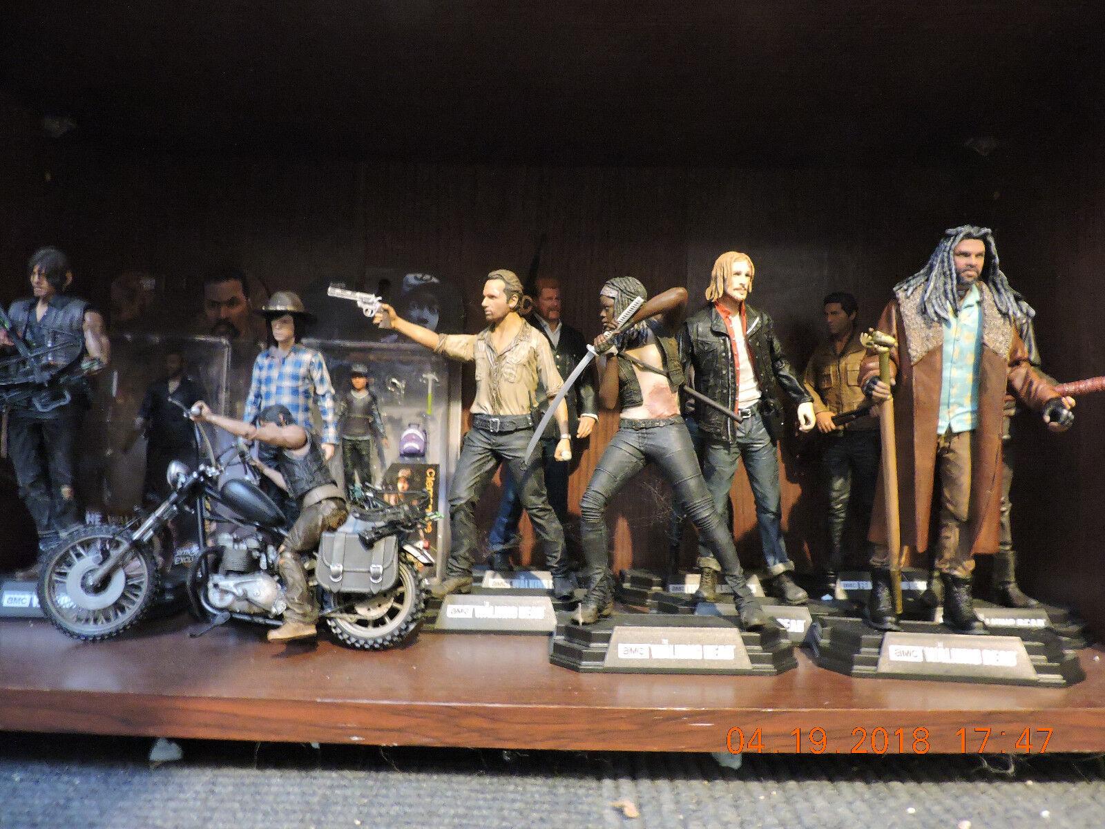 Mcfarlane Walking Dead Lote Completo