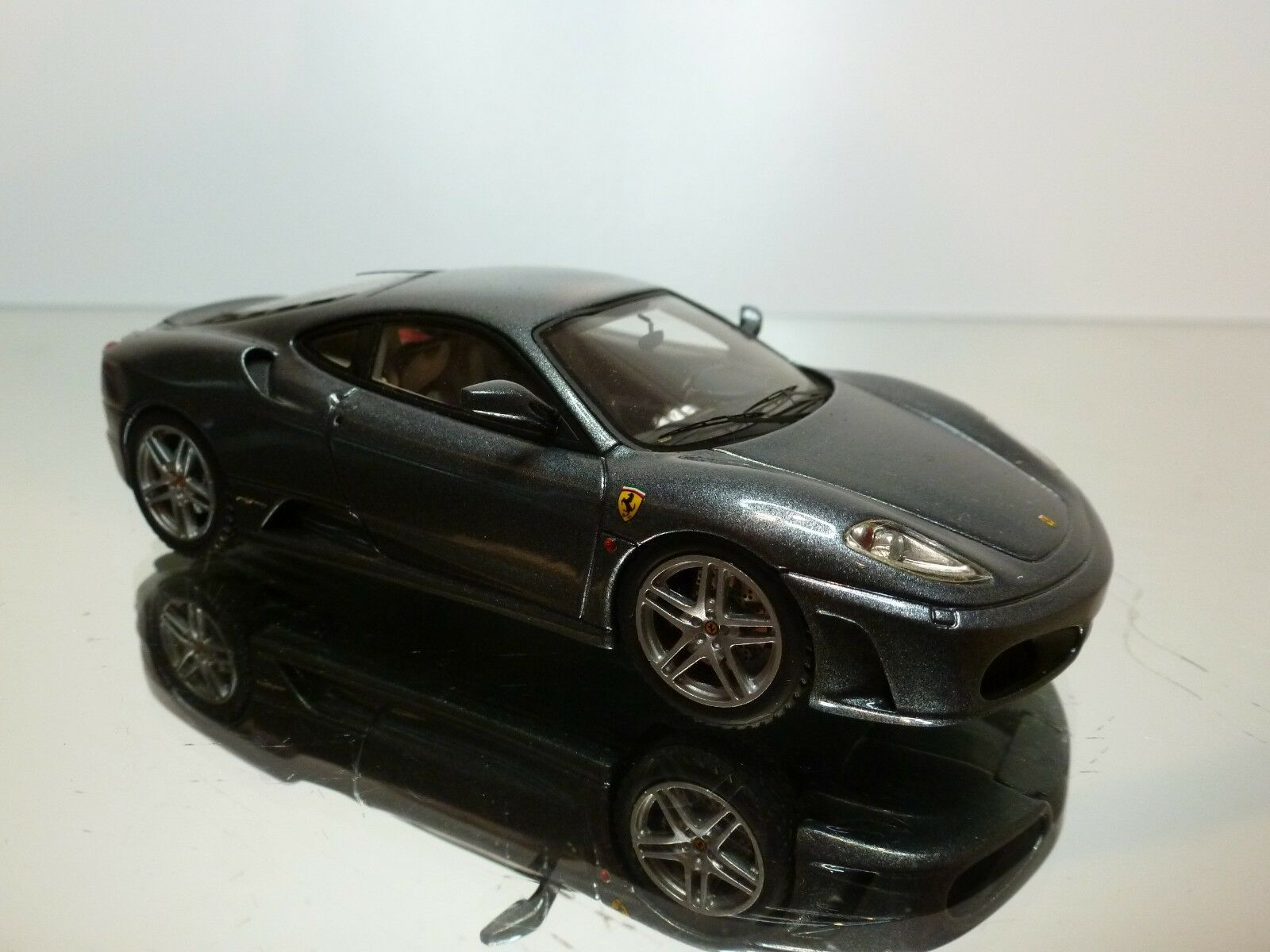 LOOKSMART 112D FERRARI F430 - ANTHRACITE 1:43 - GOOD CONDITION CONDITION CONDITION  7/8 4a3d62