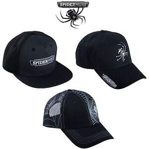ad01e829803 Image is loading Spiderwire-Baseball-Hats-Caps-3-models-Flatbill-Snapback-