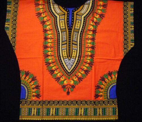 Kids ce Dashiki d/'Garçons African Poncho Hippie Blouse Filles Shirt Ethnic Top UK Stock