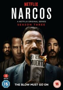 Neuf Narcos Saison 3 DVD