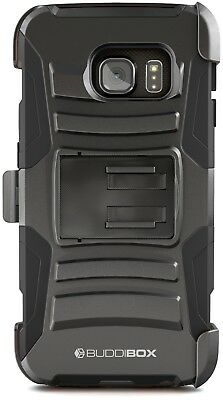 Cell Phone Accessories Self-Conscious For Samsung Galaxy S6 Edge Case Buddibox Heavy Duty Shockproof Belt Clip Cover