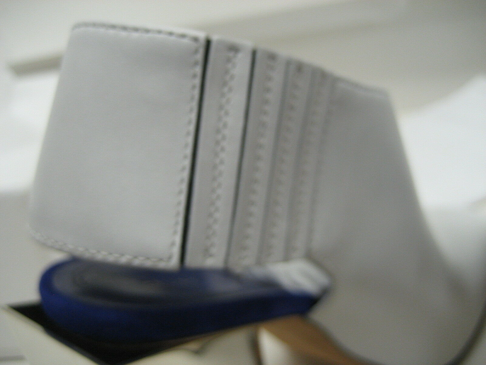 NEW CELINE US 8.5 EUR 39 Off-Weiß Leather Leather Leather Stiefelies High Mirror Heels schuhe fb8d43