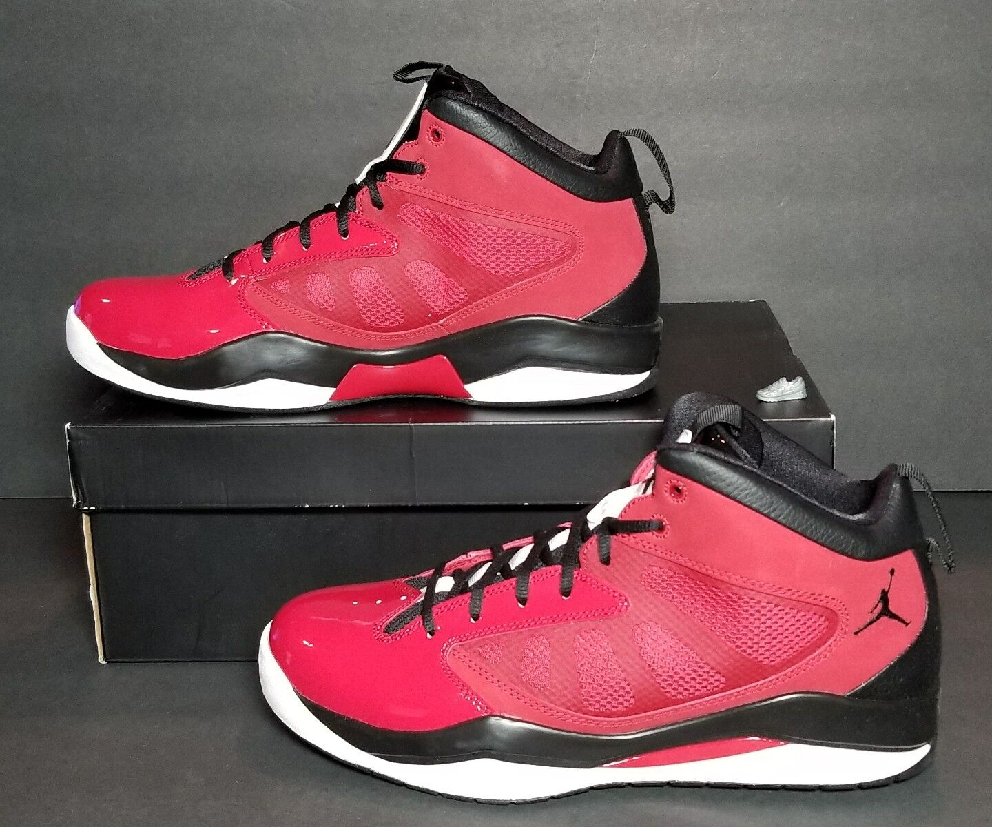 NIKE JORDAN FLIGHT TEAM 11 MEN'S MULTIPLE SIZES NEW IN BOX  GYM RED 428777 601 Wild casual shoes