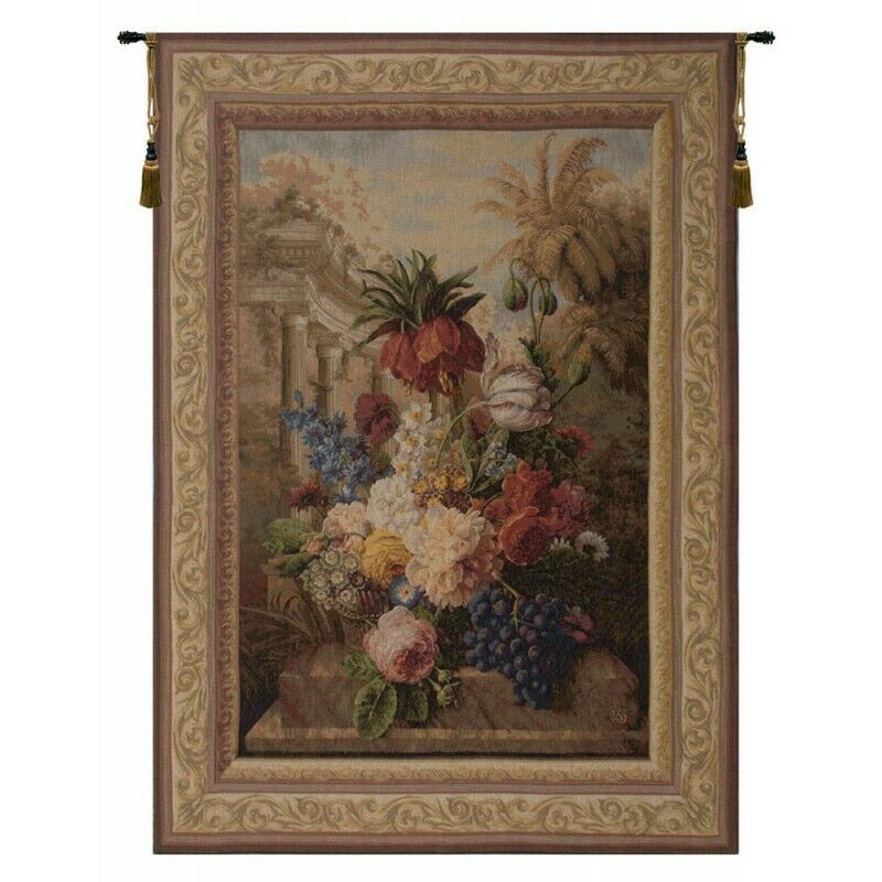 Bouquet Exotique French Tapestry Wall Hanging