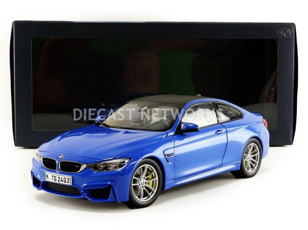 Paragon modelle 2014 bmw m4 coupé (f82) blau - ausgabe 1   18 - skala.