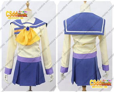 Corpse Party Ayumi Shinozaki Cosplay Costume purple Japanese uniform