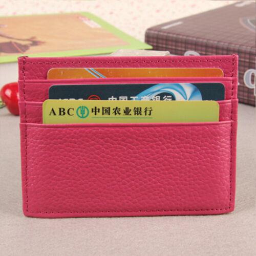 Herren Damen Ausweisetui Ausweismappe Ausweishülle Kreditkartenetui Führerschein