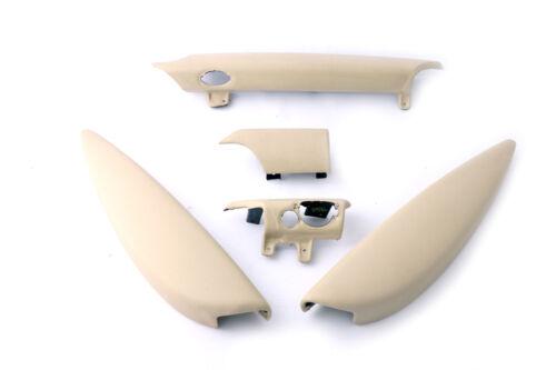 BMW Mini Cooper R56 R57 Tableau De Bord Dash Lower Trim Cover Set Kit blanc crème