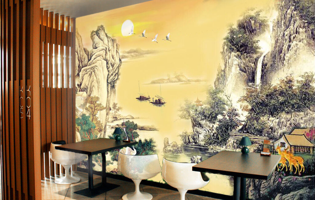 3D Scene, animal 324 Wall Paper Wall Print Decal Wall Deco Indoor Wall Murals