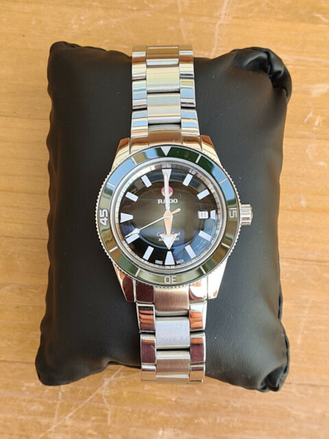 Rado Captain Cook Automatic Green Face Stainless Steel R32105313