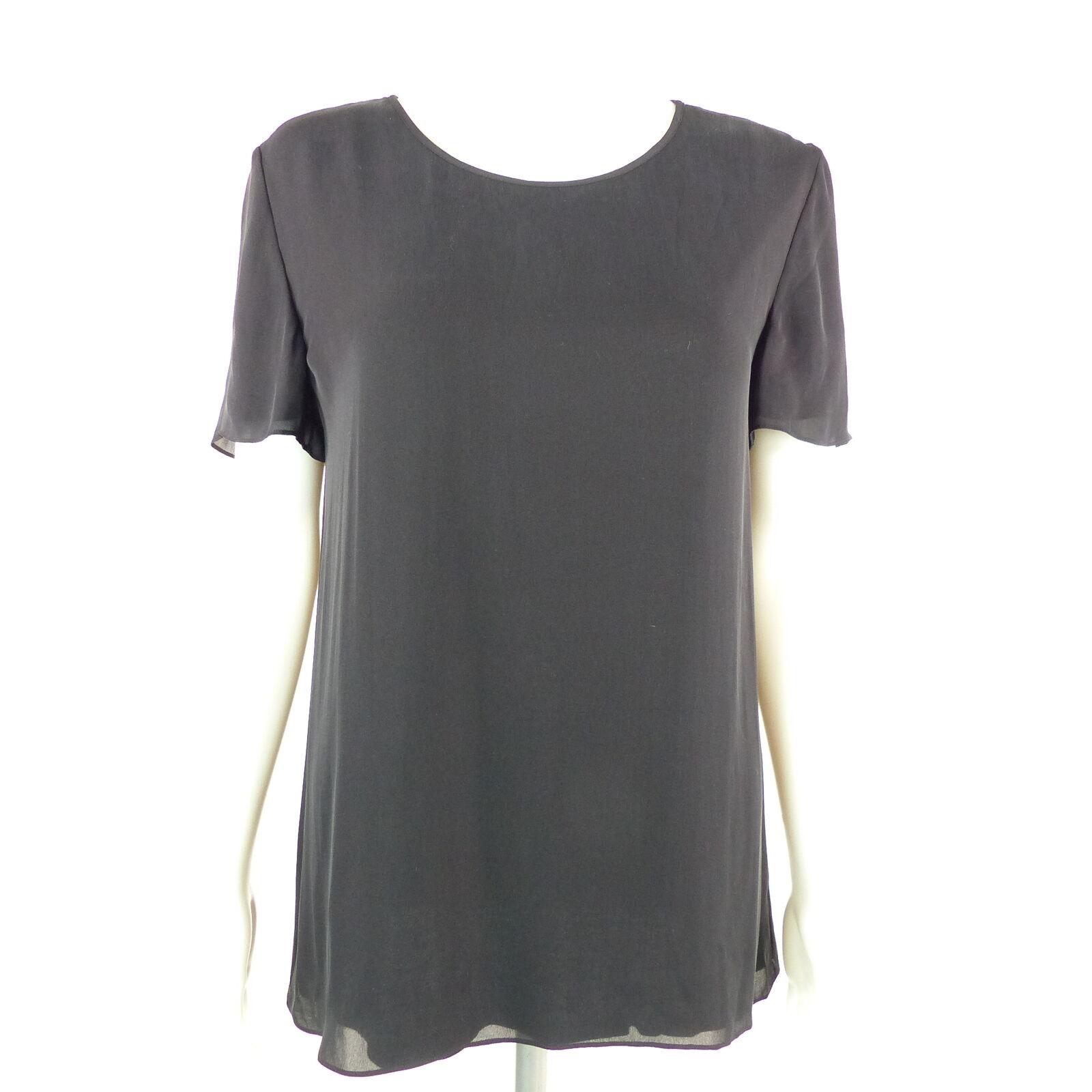 ALEXANDER WANG WANG WANG SeidenBlause Gr. S schwarz Damen Blause Silk Oberteil Shirt Blouse | Genial Und Praktisch  c65ec1