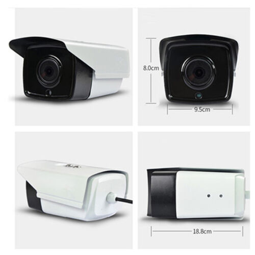 New 2MP//3MP//4MP//5MP POE HD 30M IR H.265 Onvif IP66 Outdoor Network Bullet Camera