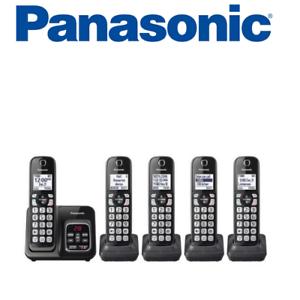 Panasonic-KX-TGD535M-Cordless-Phone-Call-Block-Answering-Machine-Handsets