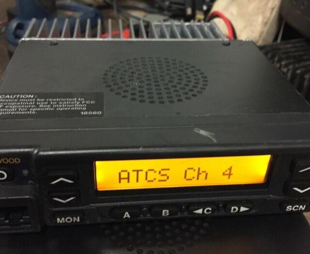 KENWOOD TK-981 900MHz FM TRANSCEIVER Version 2 0 13 6V 7A RADIO