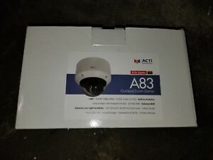 ACTi-A83-2MP-Outdoor-Zoom-Dome-D-N-Adapt-IR-Basic-WDR
