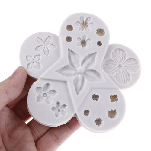 Blume Silikon Form Fondant Form Kuchen Tool Schokolade Rollfondant Schim Pw