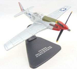 Mustang-P51D-Oxford-Diecast-Modelzone-1-72-Scale-Major-Louis-039-Red-Dog-039-AC021