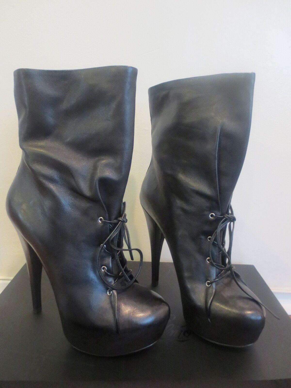 ALEJANDRO INGELMO Black Mia Boot Size 39.5EUR /9.5 US MSRP $795