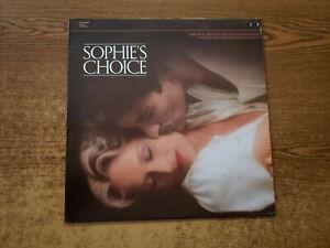 1983 MINT-EXC Marvin Hamlisch ?– Sophie's Choice MOVIE TRACK 1002  LP33