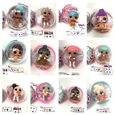 Mixed Lots Action Figures Sincere Lol Surprise Bling Series Pick 1 Holiday Doll Christmas Tree Ornament Big Sister Latest Technology