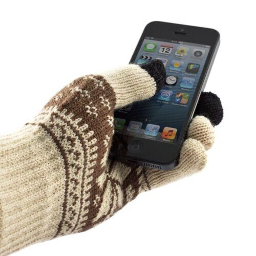 TOUCH éCRAN Hiver Tricot Gants Femme Homme Enfants pour Smart Phone Tablette Magic