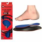 Flat Foot Sport Insoles -Relieves Flat Foot Low Arch Pain-Orthotic Inserts - NEW