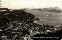 Ludwigshafen am Bodensee AK 1974 Totale Blick auf die Schweizer Alpen Luftbild