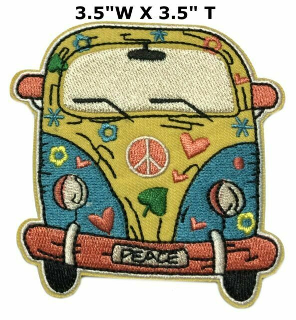 Love Dove Woodstock Hippy Peace Iron Sew On Embroidered Shirt Bag Badge Patch